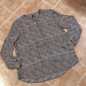 NYDJ long sleeve blouse size women's petite medium